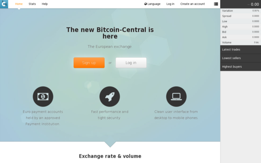 Access bitcoin-central.net using Hola Unblocker web proxy