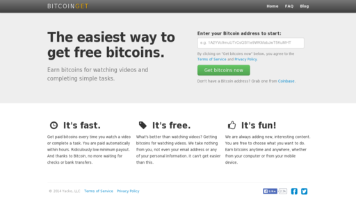 Access bitcoinget.com using Hola Unblocker web proxy