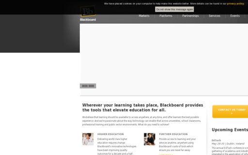 Access blackboard.com using Hola Unblocker web proxy