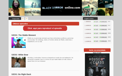 Access blackmirroronline.com using Hola Unblocker web proxy