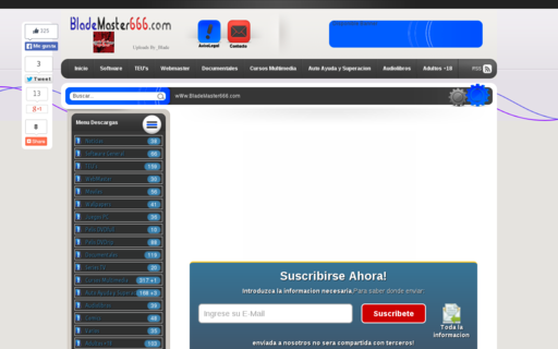 Access blademaster666.com using Hola Unblocker web proxy