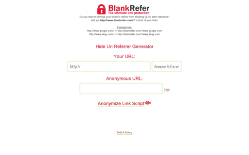 Access blankrefer.com using Hola Unblocker web proxy