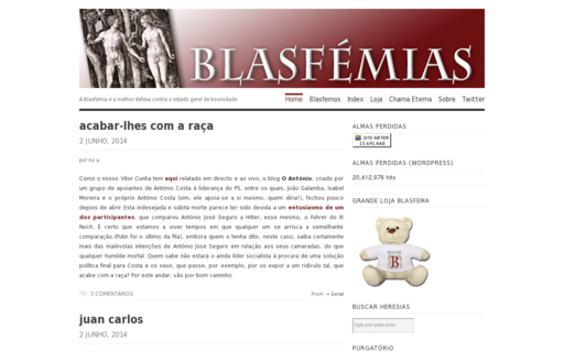 Access blasfemias.net using Hola Unblocker web proxy