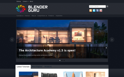 Access blenderguru.com using Hola Unblocker web proxy