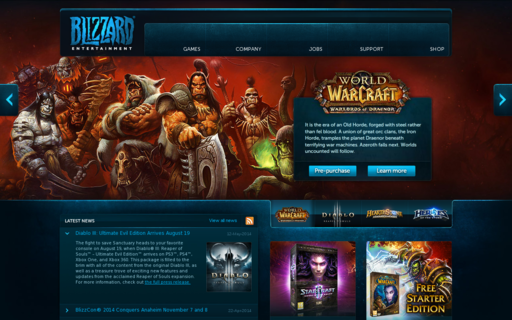 Access blizzard.com using Hola Unblocker web proxy