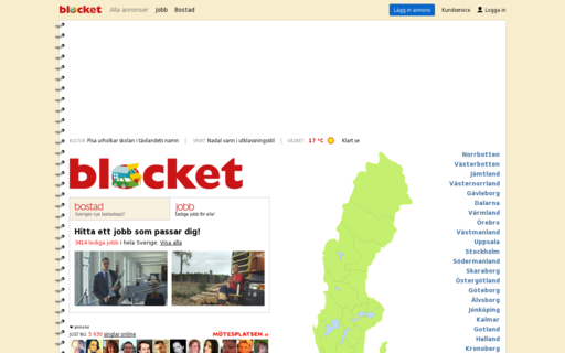 Access blocket.se using Hola Unblocker web proxy