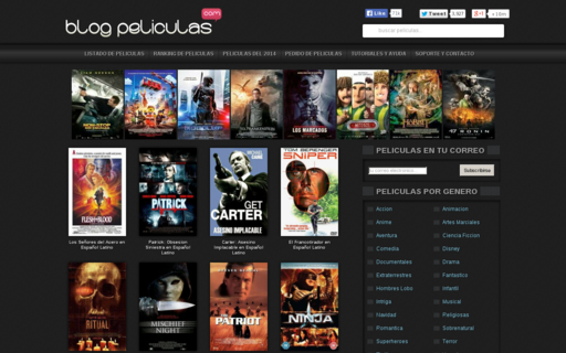 Access blog-peliculas.com using Hola Unblocker web proxy