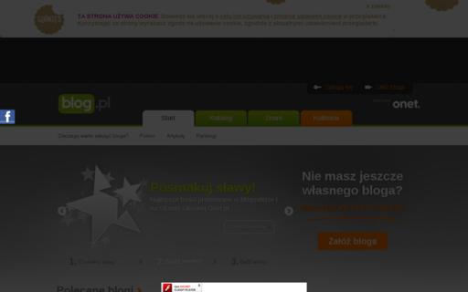 Access blog.pl using Hola Unblocker web proxy