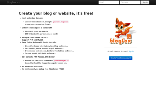 Access blogfox.co using Hola Unblocker web proxy