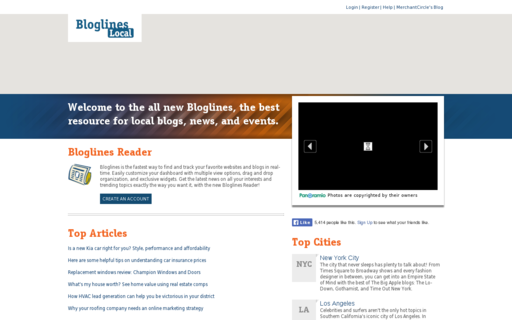 Access bloglines.com using Hola Unblocker web proxy
