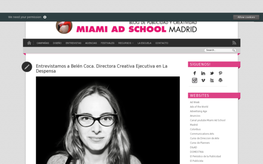 Access blogmiamiadschoolmadrid.com using Hola Unblocker web proxy