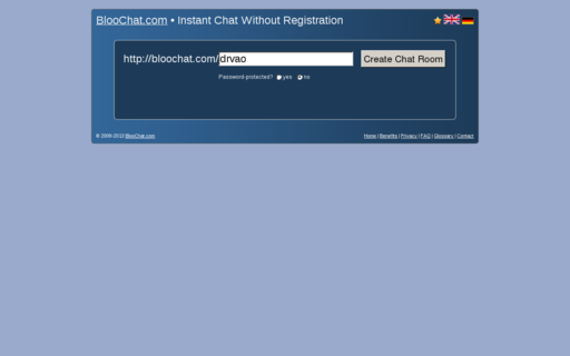 Access bloochat.com using Hola Unblocker web proxy