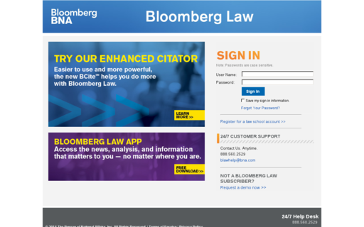 Access bloomberglaw.com using Hola Unblocker web proxy