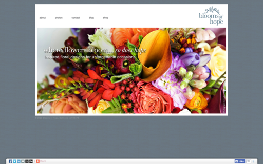 Access bloomsofhopefloral.com using Hola Unblocker web proxy