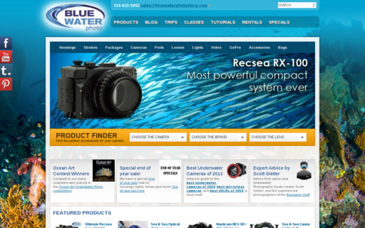 Access bluewaterphotostore.com using Hola Unblocker web proxy