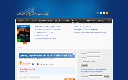 Access bluray-dealz.de using Hola Unblocker web proxy