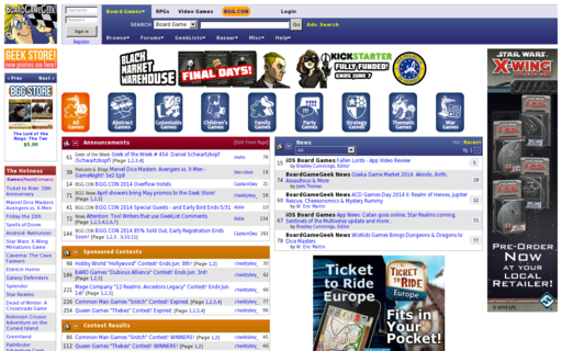 Access boardgamegeek.com using Hola Unblocker web proxy