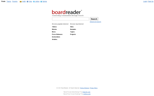 Access boardreader.com using Hola Unblocker web proxy