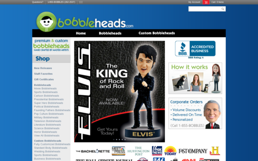 Access bobbleheads.com using Hola Unblocker web proxy