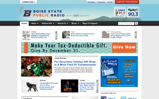 Access boisestatepublicradio.org using Hola Unblocker web proxy
