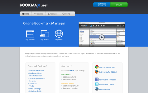 Access bookmax.net using Hola Unblocker web proxy