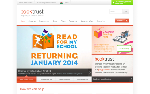 Access booktrust.org.uk using Hola Unblocker web proxy
