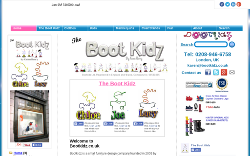 Access bootkidz.co.uk using Hola Unblocker web proxy