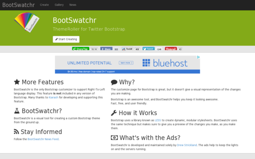 Access bootswatchr.com using Hola Unblocker web proxy