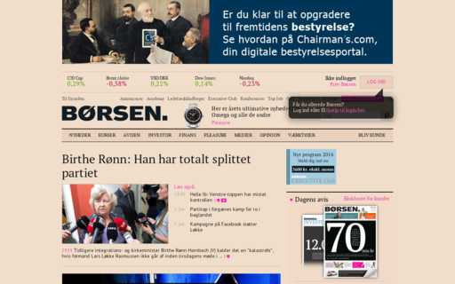Access borsen.dk using Hola Unblocker web proxy