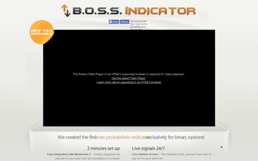 Access bossindicator.com using Hola Unblocker web proxy