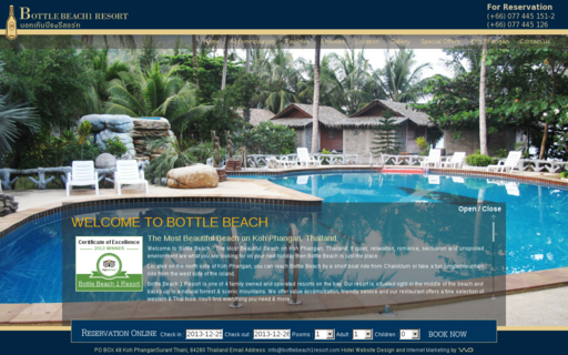 Access bottlebeach1resort.com using Hola Unblocker web proxy