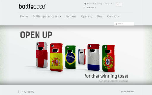 Access bottlocase.com using Hola Unblocker web proxy