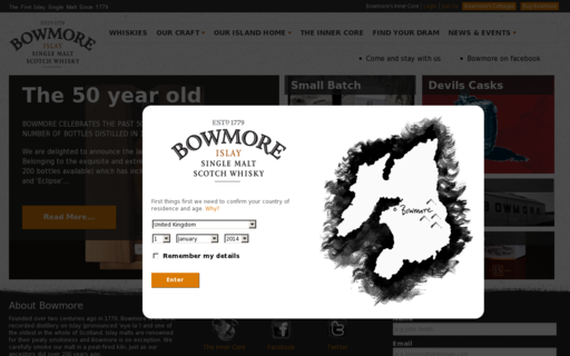 Access bowmore.com using Hola Unblocker web proxy