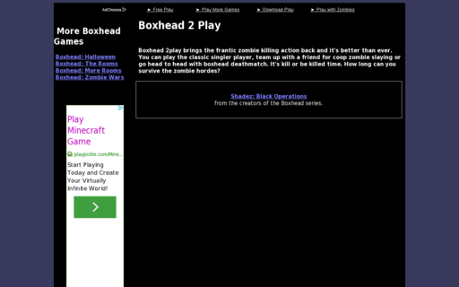 Access boxhead2.info using Hola Unblocker web proxy