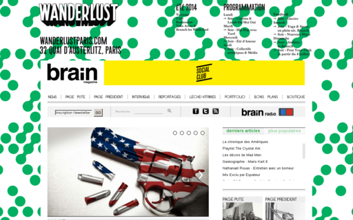 Access brain-magazine.fr using Hola Unblocker web proxy