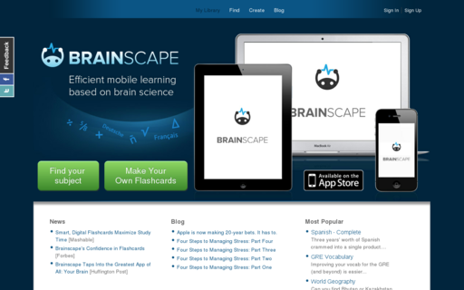 Access brainscape.com using Hola Unblocker web proxy