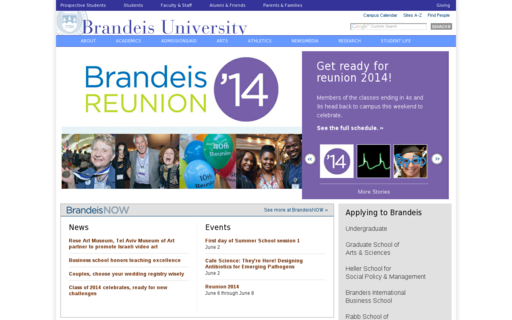 Access brandeis.edu using Hola Unblocker web proxy