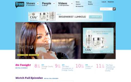Access bravotv.com using Hola Unblocker web proxy