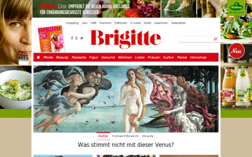 Access brigitte.de using Hola Unblocker web proxy