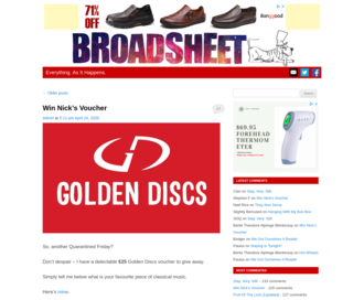 Access broadsheet.ie using Hola Unblocker web proxy