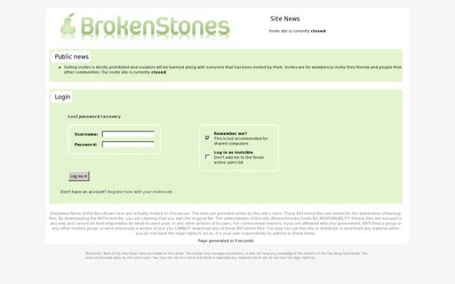 Access brokenstones.me using Hola Unblocker web proxy