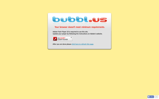 Access bubbl.us using Hola Unblocker web proxy