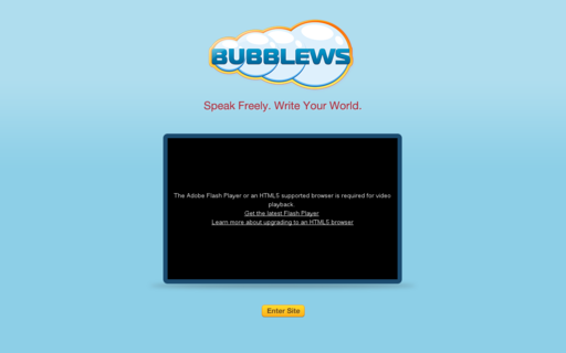 Access bubblews.com using Hola Unblocker web proxy