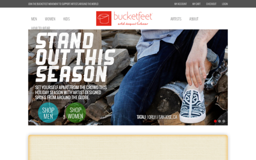 Access bucketfeet.com using Hola Unblocker web proxy
