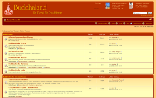 Access buddhaland.de using Hola Unblocker web proxy