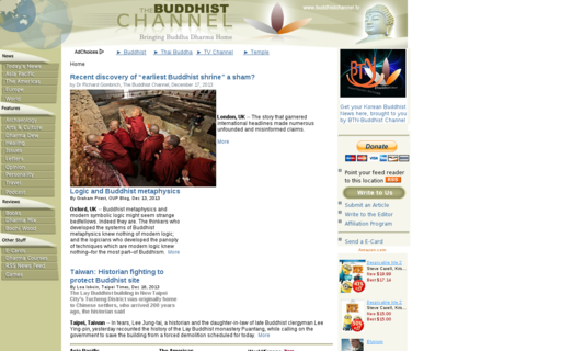 Access buddhistchannel.tv using Hola Unblocker web proxy