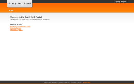 Access buddyauth.com using Hola Unblocker web proxy