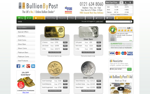Access bullionbypost.co.uk using Hola Unblocker web proxy