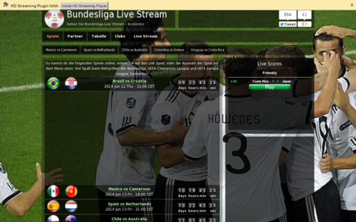 Access bundesliga-streams.net using Hola Unblocker web proxy