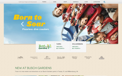 Access buschgardens.com using Hola Unblocker web proxy